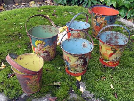 Child's Garden Buckets