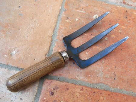 Hand fork a for Gardening tools for sale
