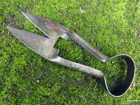 vintage and antique garden tools